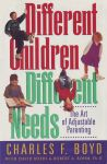 DIFFERENT CHILDREN DIFFERENT NEEDS : The Art Of Adjustable Parenting