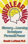 POWERLEARNING : Memory & Learning Techniques For Personal Power