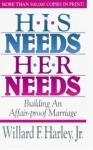 HIS NEEDS HER NEEDS : Building An Affair-proof Marriage