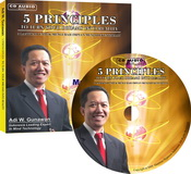 5 Principles to Turn Your Dreams Into Reality (CD Audio)
