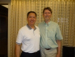 Adi and Randal Churchill (Hypnotherapy Training Institute, USA)