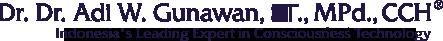 Adi W Gunawan - Indonesia Leading Expert in Mind Technology